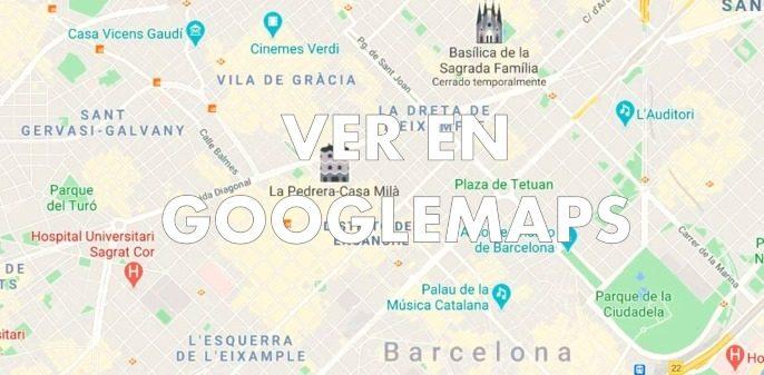mapa de locales de cluedo en vivo en Barcelona