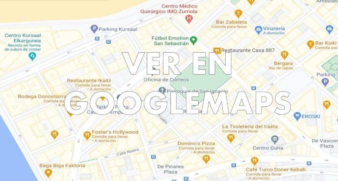 mapa de locales de cluedo en vivo en Bilbao