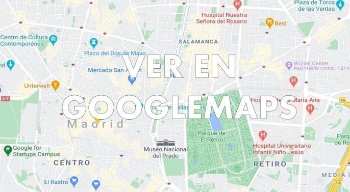 mapa de locales de cluedo en vivo en Madrid