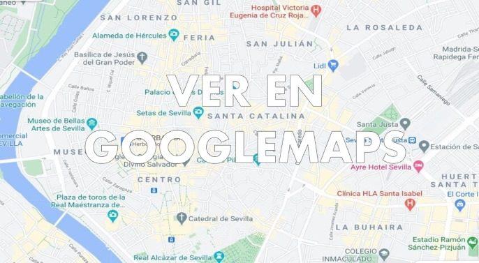 mapa de locales de cluedo en vivo en Sevilla