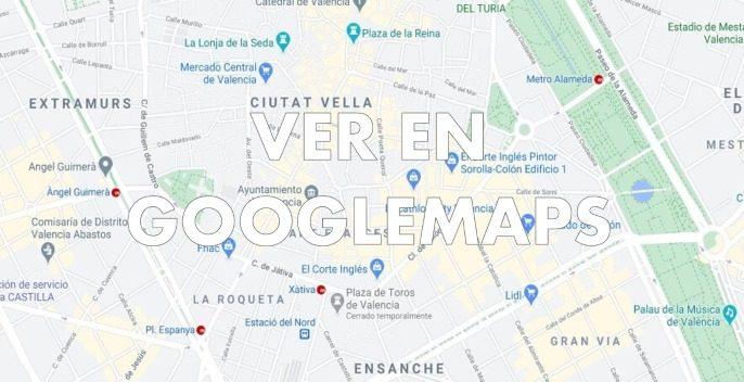 mapa de locales de cluedo en vivo en Valencia